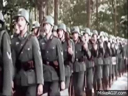 Military Gifs Animated Makeagif Marching German Giphy