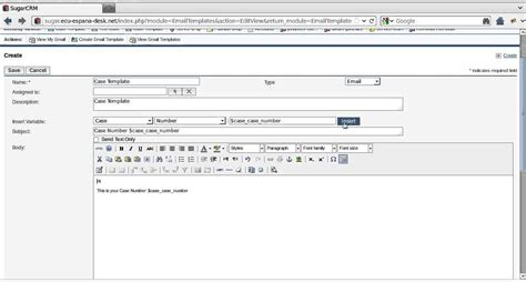 Sugarcrm Email Templates by Sugarcrm Email Template Customization