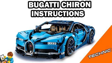 Build just like a bugatti engineer. LEGO INSTRUCTIONS - Bugatti Chiron - TECHNIC - LEGO Set ...