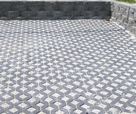 permeable pavers driveway driveway permeable concrete pavers and turfstone idea photo gallery enhance companies