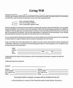 living will template mobawallpaper With template for wills for free