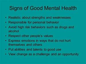 What is Mental Health. - ppt video online download