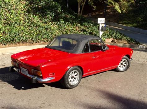 1974 Fiat 124 Spider by 1974 Fiat 124 Spider For Sale Photos Technical