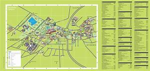 Campus map with A