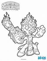 Torch Coloring Skylanders Trap Hellokids Games sketch template