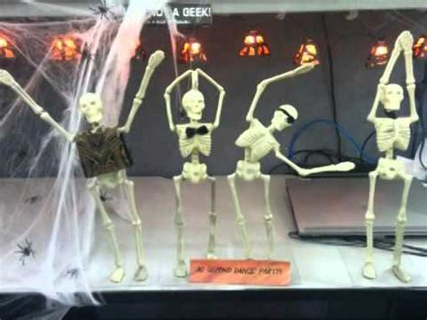office halloween decorating contest youtube