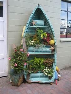 Disconcerting Repurposed Garden Decor Ideas - DIY Ideas