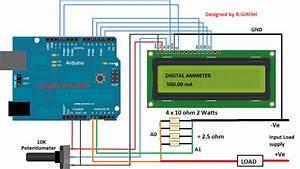 Make This Advanced Digital Ammeter Using Arduino