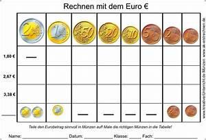 Lernen Mit Geld Umzugehen : eurobetr ge in m nzen aufteilen ~ Orissabook.com Haus und Dekorationen