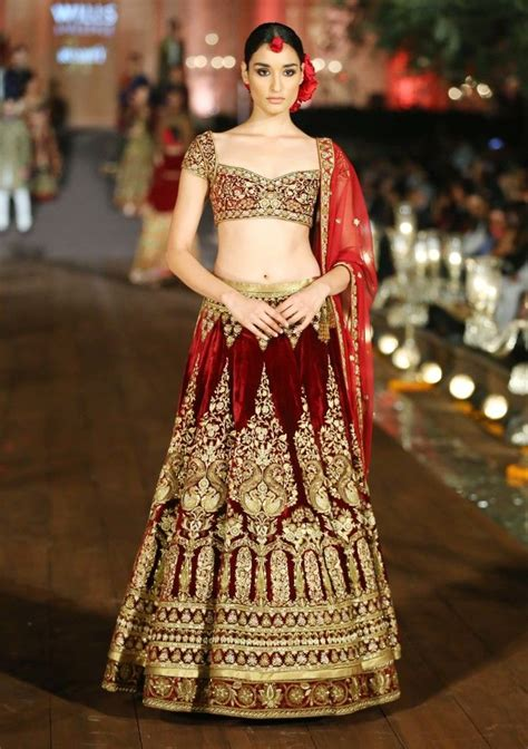 gorgeous designer wedding lehengas   indian