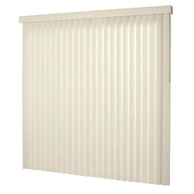 hton bay smooth alabaster 3 5 in pvc vertical blind