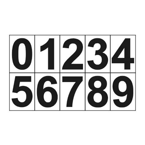plaque porte bureau chiffres de 0 à 9