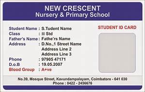 id card coimbatore ph 97905 47171 elementary school With school id badge template