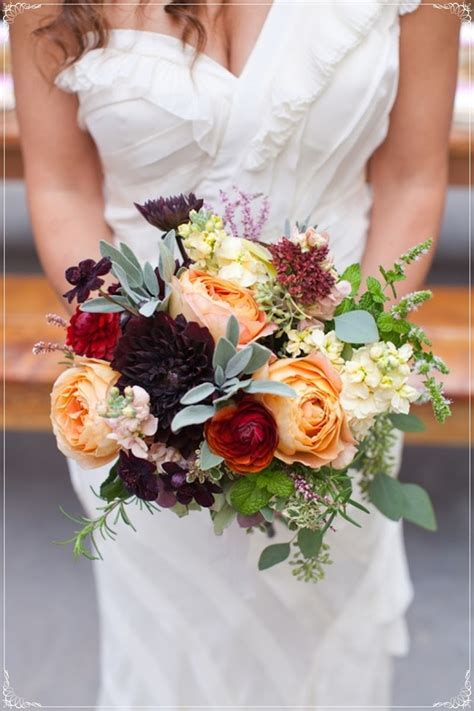 A Winter Wedding Bouquet Sarah The Travel Muse