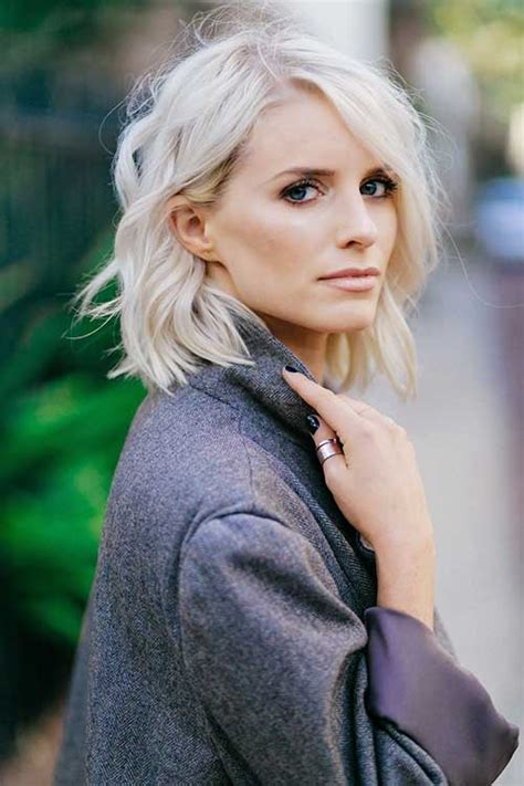 Platinum Hairstyles by 20 Cropped Hair Hairstyles 2018 2019