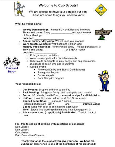 Scout Boats Job Application akela s council cub scout leader training parent