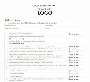 employee exit interview employee exit interview form With free employee exit interview template