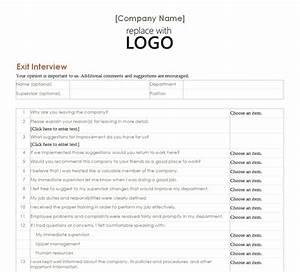 employee exit interview employee exit interview form With employee exit interview questions template
