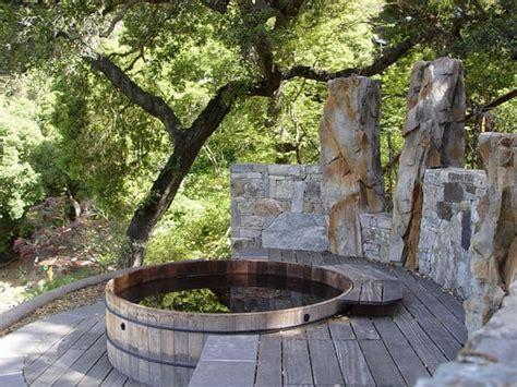 irresistible hot tub spa designs   backyard