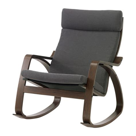 po 196 ng rocking chair finnsta grey ikea