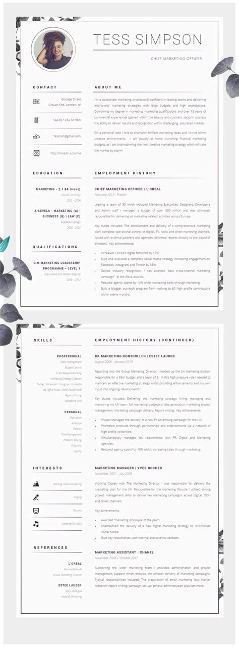 Cv Search by Best 25 Cv Template Ideas On