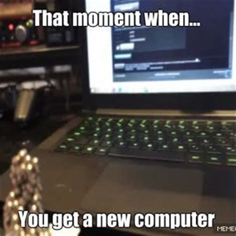 New Computer Meme - pewds new computer by mickeylover223 meme center