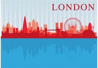 London Scape Vector Clipart Edit Graphics
