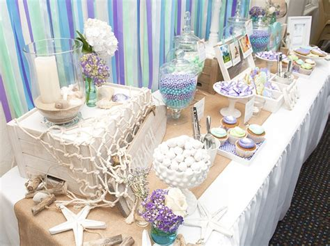 Kara's Party Ideas Beach Themed Engagement Party {planning