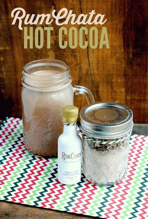 In a large bowl, mix together cake mix, vegetable oil, eggs, and 1 cup rumchata until smooth. Boozy Budget Gifts: RumChata Hot Chocolate Recipe
