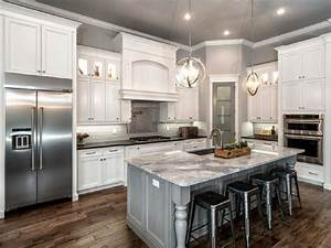 white and gray kitchens design decoration With kitchen cabinet trends 2018 combined with electric candle holder