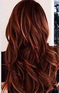 Ombré Hair Auburn : 25 best ideas about auburn hair highlights on pinterest auburn hair auburn colors and auburn ~ Dode.kayakingforconservation.com Idées de Décoration