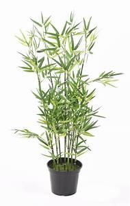 Arbuste D Intérieur : bambou artificiel arbuste cannes vertes plante d ~ Premium-room.com Idées de Décoration