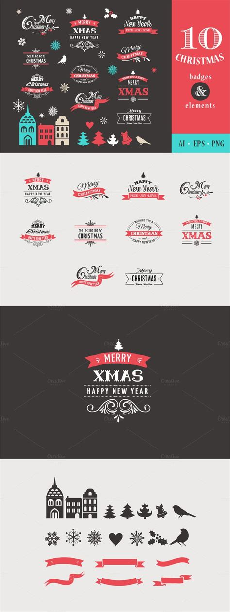 christmas huge template easter a huge collection christmas badges and templates