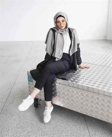 magnifiques styles de hijab facile  faire tendance