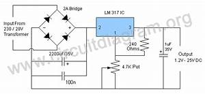 Lm317t Power Supply
