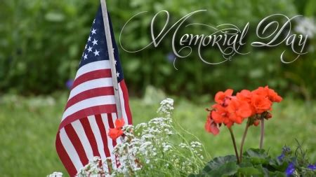 memorial day photography abstract background