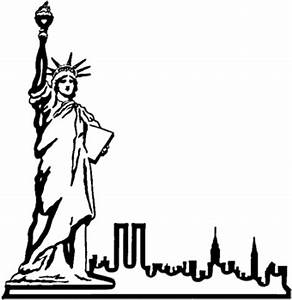 statue of liberty drawing outline clipart best With statue of liberty drawing template