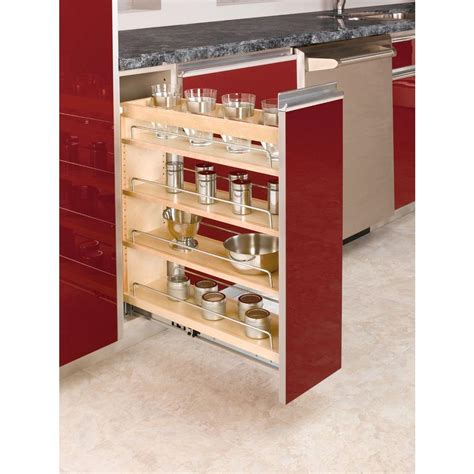 pull out kitchen storage ideas rev a shelf 25 48 in h x 8 19 in w x 22 47 in d pull
