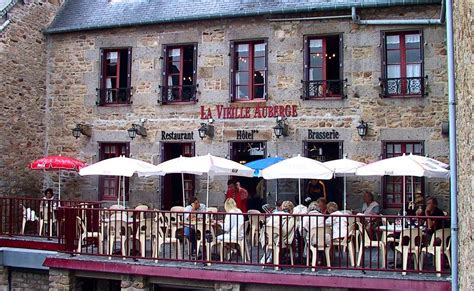 restaurant mont michel living the in aignan le mont michel