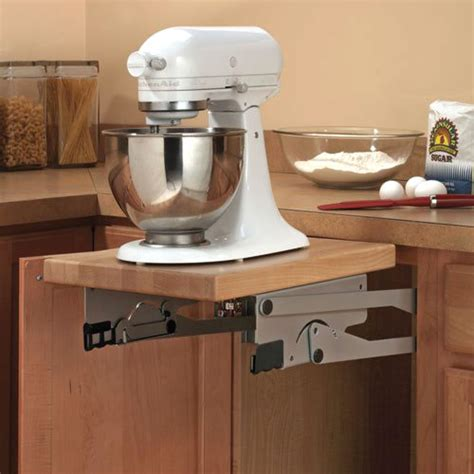 kitchen cabinet mixer lift kitchen cabinet appliance lift hardware in pull out