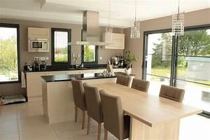 dans votre chalet en bois une cuisine ouverte ou fermee With cuisine ouverte ou fermee
