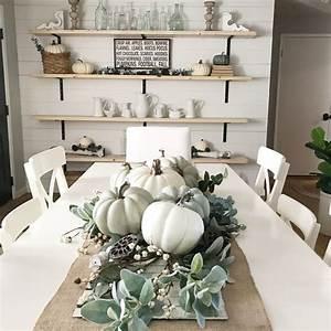 Farmhouse Dining Room Fall Decor Ideas - Home Bunch