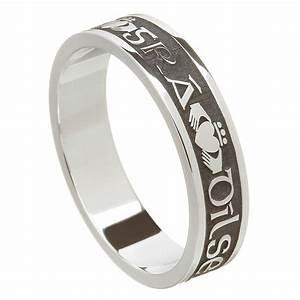 Love loyalty friendship oxidized silver wedding ring for Love loyalty friendship wedding rings