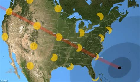 noaa reveals cloudiness map  historic  eclipse daily mail