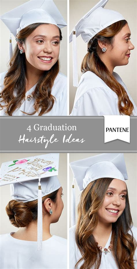4 graduation cap hairstyles stand out on your big day