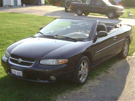 Sell Used 1998 Chrysler Sebring Jxi Convertible 2-door 2