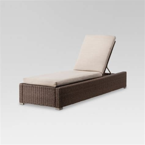 target chaise lounge heatherstone wicker patio chaise lounge thresh target