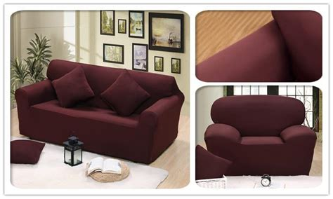 Sectional Couch Covers L-shaped Sofa Cover Elastic