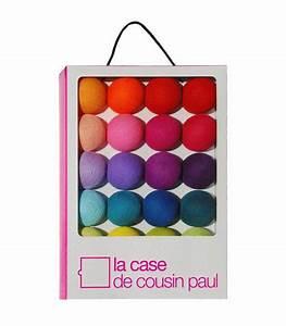 Guirlande Boule Lumineuse : guirlande lumineuse kit tao tong 20 boules case de cousin paul ~ Teatrodelosmanantiales.com Idées de Décoration