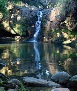 Private Swimming Hole Waterfall